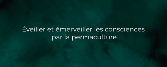 Formation en permaculture – Élan Sauvage