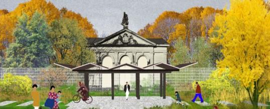 Des jardins pour la ville : table ronde, bar et fanfare